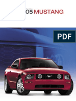 2005 Ford Mustang Brochure USA