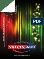 Yalcin Battery Catalogue