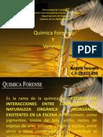 Quimica de Los Medicamentos. Quimica Forense, Venenos Que No Dejan Rastros