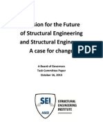 A Vision for the Future of Structural Engineering Oct 16 2013(2)