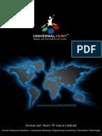 Universalhunt Company Brochure