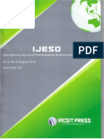 IJESD AMK Article Environment Pollution and Management