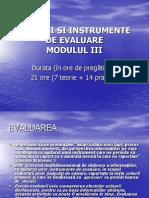 Tehnici Si Instrumente de Evaluare