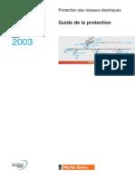 Protection des réseaux électriques Guide Merlin Gerin 2003