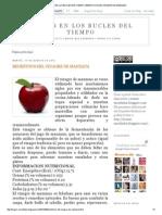 Trazos en Los Bucles Del Tiempo_ Beneficios Del Vinagre de Manzana