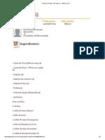 Imprimir Receita - Pica Pau (II) - Petiscos