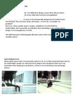 6.Why Public Spaces Fail