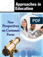 Quality Approaches in Higher Education Vol 3 No 1
