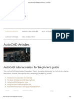 AutoCAD Tutorial, Tips and Best Practices _ CAD Notes