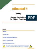 Training Review Technique