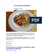 RaquelMagem Varias Recetas Cocina Alternativa