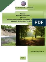 Audit Situatie Patrimoniala Fond Forestier