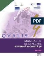 Manual Evaluare Externa a Calității (1)