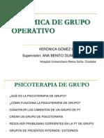 Dinamica de Grupo Operativo