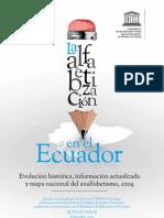 La alfabetización en el Ecuador