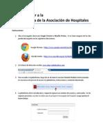 Instrucciones Acceder Plataforma