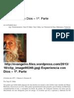 Experiencia con Dios – 1ª