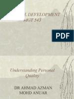 Personal Development Mgt 543