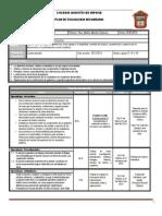 Plan y Programa de Evaluacion FCyE I BLOQUE IV