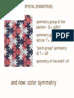 Color Symmetry