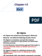 Chapter-13 Six Sigma