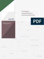 Eindrapport Impactanalyse Scenarioverkenning 2013 PBQL