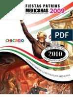 Revista Fiestas Patrias Mexicanas Septiembre '09 - Comite Fiestas Patrias Chicago