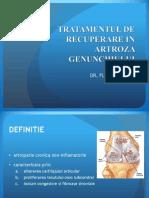 Tratament de Recuperare in Artroza Genunchiului