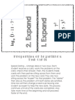 Property of Log Task Cards