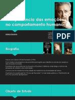A importância das emoções no comportamento humano