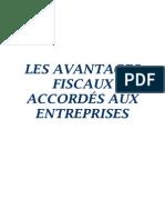 les avantages fiscaux accordés aux entreprises.pdf