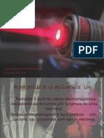 Aplicatii Ale Radiatiilor X Si Laser