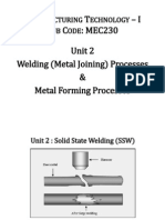4 Unit 2- Solid State Welding (SSW)