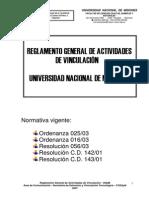 Reglamento Secretaria de Extension