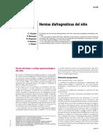 Hernias diafragmaticas en el niño