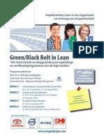 Green-Black Belt in Lean certification