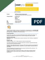 GRP Handrail Specification