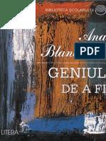 Blandiana Ana - Geniul de a Fi (T Crono)