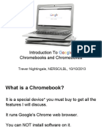 Chrome OS Presentation Tech Talk