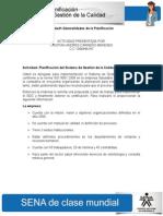 1. Generalidades de la Planificación - Cristian Carreño