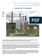 Electrical-Engineering-portal.com-Transformer Extra Losses Due to Harmonics