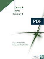Lectura 1- M1- Unidad 1 y 2 - Produccion I