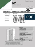 PUMY-P100-140YHM Technical & Service Manual (OC355revB)