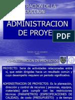 Adminitracion de Pro