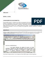 Simulado Word e Excel