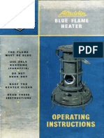 blue flame owner manual