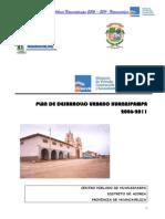 Plan de Desarrollo Huanaspampa PDF