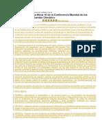 Mesa 18- Declaración Derechos colectivos y derechos de la Madre Tierra