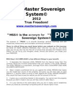 98706034 the Master Sovereign System Step 1