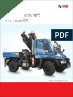 Unimog Prospekt Cargotec for GruaCor 2013